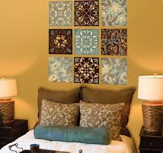 Nice Color For Bedroom Batik Wall Art With Tan Wall Color For Captivating Bedroom