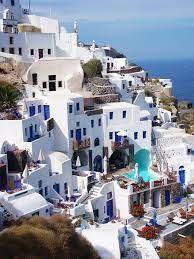 greece, travel, house, white, blue, mykonos, holiday, greek island | Pikist