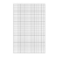500 X A4 Loose Leaf Graph Paper Unpunched 75gsm Paper