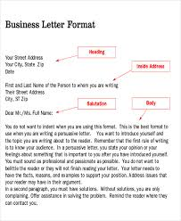 Sample Persuasive Business Letter 7 Examples In Word Pdf