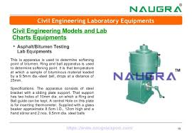Civil Engineering Laboratory Equipments Manufacturer In India