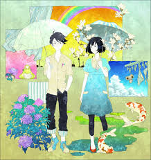 the tatami galaxy the eccentric family art umbrella painting ilration child art