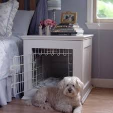Dog crate nightstand. Gonna need two of these.
