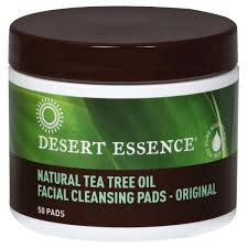 Desert Essence <b>Facial Cleansing Pads</b>, <b>Daily</b>