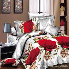 high quality bedding.  High High Quality New Style 3d Duvet Cover Set Blue Rose Bedding Sets Red  Flowers Queen Size Intended High Quality Bedding R