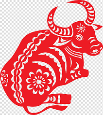 It will then be another 12 years before the next one in. Chinese New Year Paper Cutting Papercutting Chinese Zodiac Ox Chinese Paper Cutting Drawing Red White Transparent Background Png Clipart Hiclipart