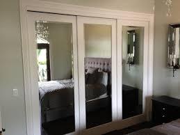 image mirrored closet door. Mirrored Sliding Closet Doors Makeover To Bedroom Image Door