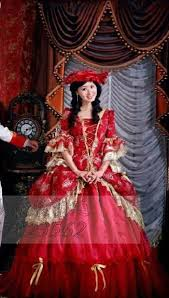 th th century french noble style queen marie antoinette red  17th 18th century french noble style queen marie antoinette red victorian ball gown party wedding dress theater costume in dresses from women s clothing
