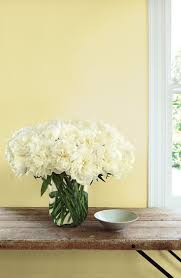 soft yellow paint for bedroom.  Soft Ralph Lauren Paintu0027s Sweet Pale Yellow Port Grace Reflects A Soft Light  Behind Bouquet From The Garden Throughout Soft Yellow Paint For Bedroom O