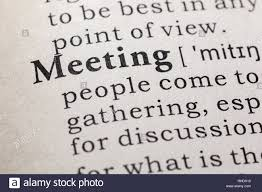 Words For Meeting Fake Dictionary Dictionary Definition Of The Word Meeting