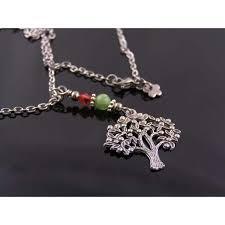 tree of life necklace australian chrysoprase