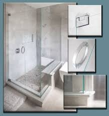 details on frameless shower doors