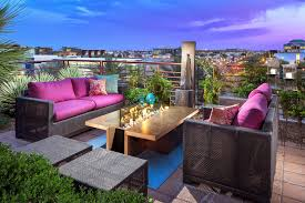 Outdoor Living Room Design Take Advantage Of The Rooftop Area Become A Beautiful Outdoor