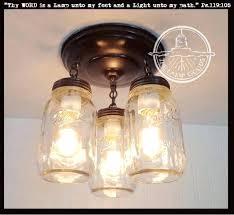 mason jar island light a mason jar light fixture new quart trio the lamp goods mason jar lights over island