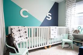 geometric wall paintHow to Paint a Geometric Wall in your Nursery  Hey Lets Make Stuff