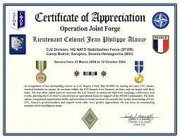 Years Of Service Award Wording Army Certificate Of Appreciation Wording Ban Throughout Years
