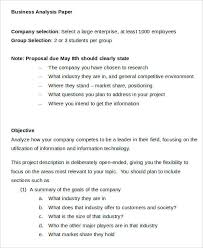 Business Paper 11 Business Paper Templates Free Sample Example Format Download