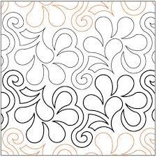 114 best Panto Pam images on Pinterest | Free motion quilting ... & Frisky Feathers quilting pantograph pattern by Lorien Quilting Adamdwight.com