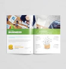 Flyer Template For Pages 16 Pages Colorful Elegant Brochure Template 001191