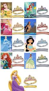 Beautiful Ladies Multi Color Round Cut Cz Disney Princess Crown