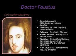 faustus essay doctor faustus essay