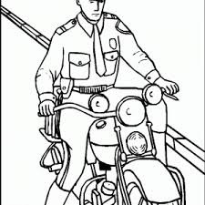 Adult Police Coloring Pictures Police Officer Coloring Pictures