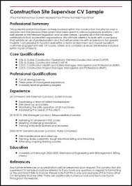 Construction Resume Templates Fascinating Construction Resume 28 Better Pinterest Sample Resume And
