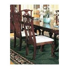 set of 2 chippendale style cherry finish dining chairs review thomasville furniture