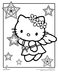 Small Picture Image detail for Kitty Christmas Coloring Pages Hello Kitty Snow