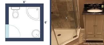 small third quarter bathroom