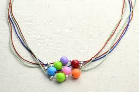 how to make a beaded necklace diy necklace ideas how to make a string bead