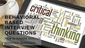 Behavioral Based Behavioral Based Interview Questions Career Development Partners