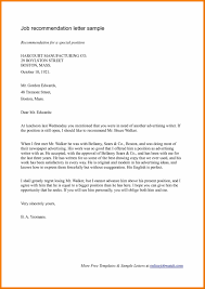 Sample Reference Format For A Sample Testimonial Letter Template