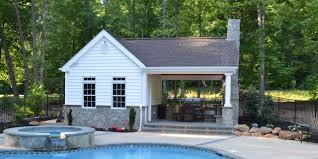 pool house kitchen. Gallery Of Pool House With Outdoor Kitchen Style Home Design Luxury To Ideas H