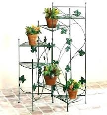 hanging plant stands outdoor basket stand planter