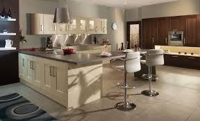 modern contemporary clonmel oak wenge cream kitchen hero a