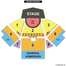 Jacobs Pavilion Seating Chart Cogent Nautica Cleveland Seating Chart 2019