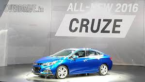 new car launched by chevrolet in indiaIndiabound allnew 2016 Chevrolet Cruze revealed  Overdrive