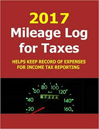 Track Mileage 2017 Mileage Log For Taxes Track Mileage And Fuel Expense