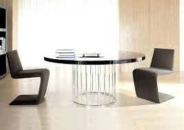 Modern Round Glass Dining Table Image Of Contemporary Round Glass
