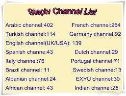 Spanish Tv Chanel Steptv Subscription European Iptv Channels Arabic Portuguese Dutch