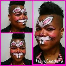 Small Picture Easter Bunny Face Paint Tutorial Rabbit Face Paint For Kids
