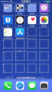 New Designed Blueprint Wallpaper for ...