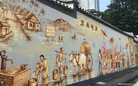 thian hock keng mural singapore on wall mural artist singapore with thian hock keng mural an immigrant s story little day out