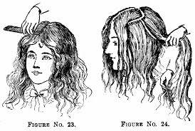 pioneer woman 1800s hair. 1890 hairstyles and combs pioneer woman 1800s hair