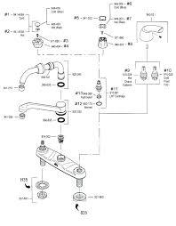rless faucet repair instructions delta parts size kitchen of shower bathroom menards