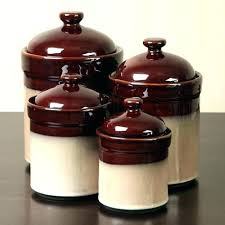 rustic canister set enchanting sets farmhouse kitchen canisters 4 piece star