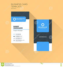 Office Visiting Card Vertical Business Card Print Template Personal Business Card Wi