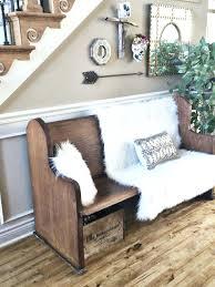 foyer furniture ideas. Entryway Foyer Furniture Old Church Pew For An Bench Ideas E