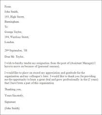 Professional Resignation Letter Templates Extraordinary 48 Resignation Letter Sample
